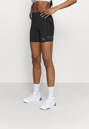 RUN FAVORITE SHORT - Leggings - black
