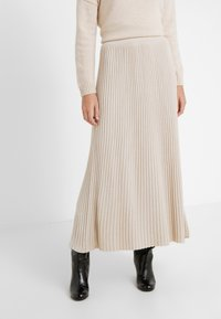 WEEKEND MaxMara - SCILLA - Pleated skirt - beige - 0