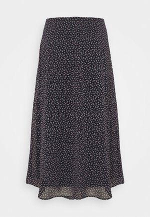 SKIRT - A-lijn rok - navy
