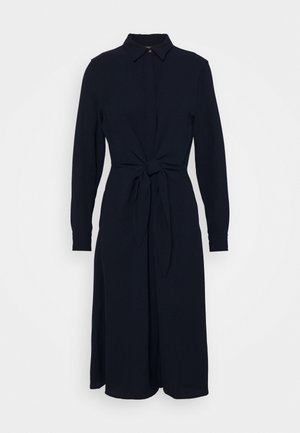 TRIPLE GEORGETTE DRESS - Vardagsklänning - navy