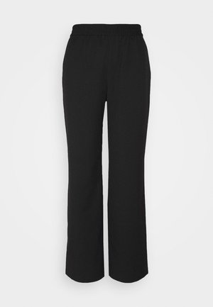 LEIKA TROUSERS - Pantalones - black dark