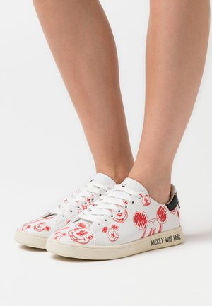 GALLERY - Sneakers laag - white/red