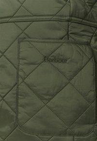 Barbour - DEVERON POLAR - Winterjas - olive/pearl - 3