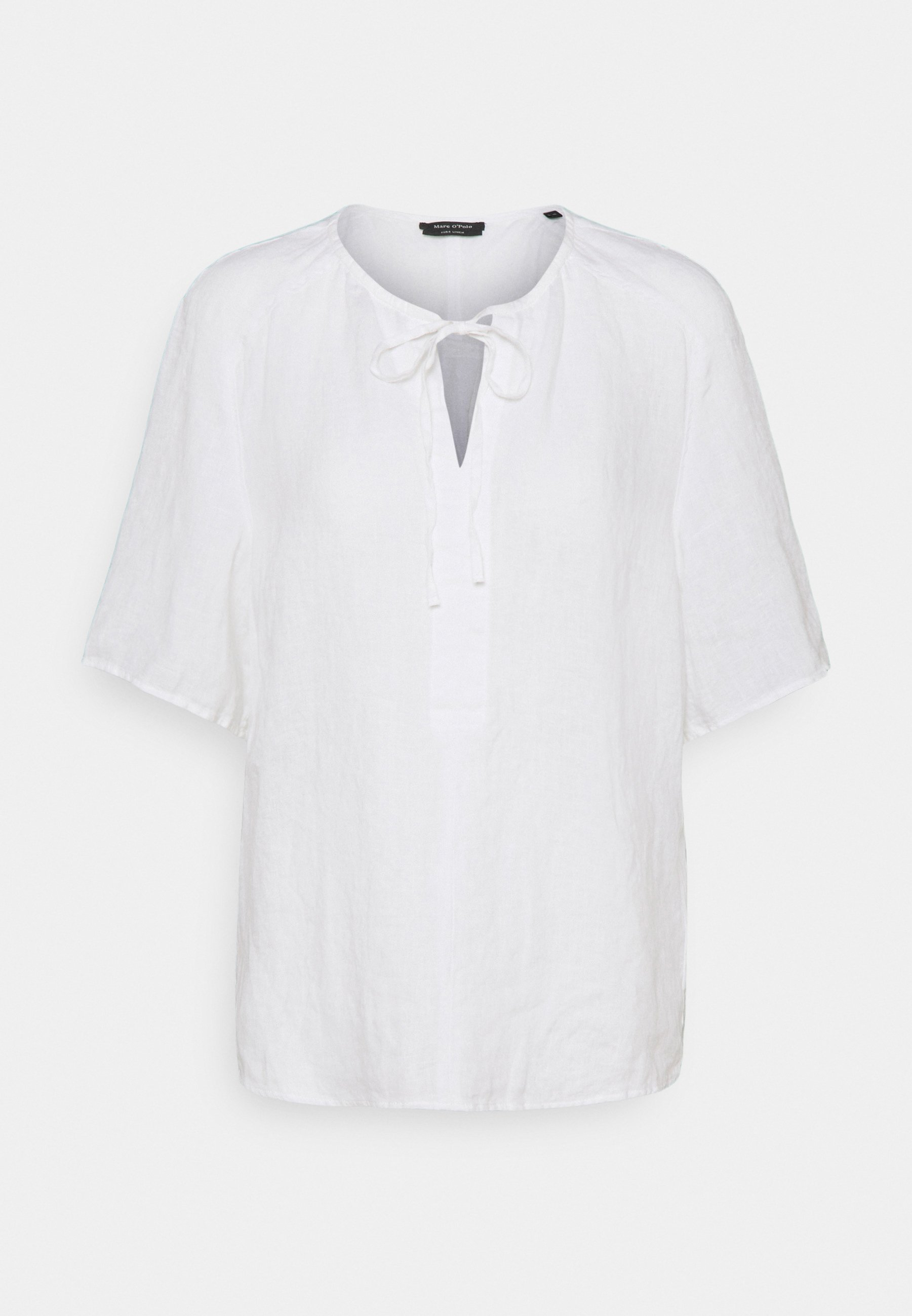 Women BLOUSE SHORT SLEEVE TUBE-TAPE - Print T-shirt
