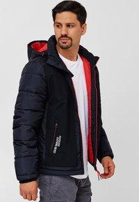 INDICODE JEANS - Winter jacket - black - 4