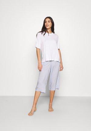 DESTINATION  - Pyjama set - blue /white