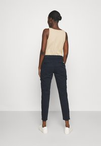 Mos Mosh - GILLES PANT - Cargo trousers - navy - 2