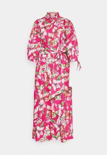 ABITOLUNGO POPELINE - Maxi dress - fuxia