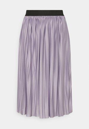 JDYBOA SKIRT  - A-line skirt - lavender gray/black