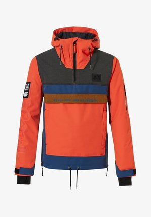 Winter jacket - vibrant orange