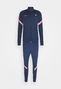 KROATIEN DRY SUIT SET - National team wear - midnight navy/crimson