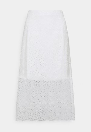 YOUNG LADIES SKIRT - Áčková sukně - white