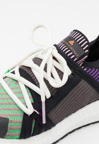 adidas by Stella McCartney - ULTRABOOST 20 S. - Neutral running shoes - core black/semi flash lilac/shadow purple - 5