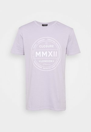 LOGO EMBLEM TEA - Print T-shirt - lilac