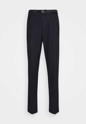 EISENHOWER BUCKLE - Trousers - blue