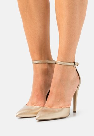 VEGAN DALINNA - High heels - gold