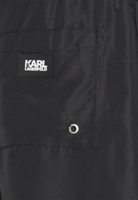 KARL LAGERFELD - Swimming shorts - black - 3