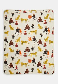 Lindex - SHAWL MONKEY WORLD - Play mat - light beige - 0