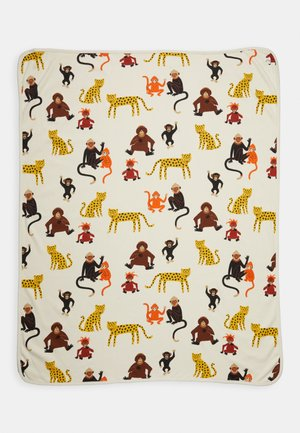 SHAWL MONKEY WORLD - Manta infantil - light beige