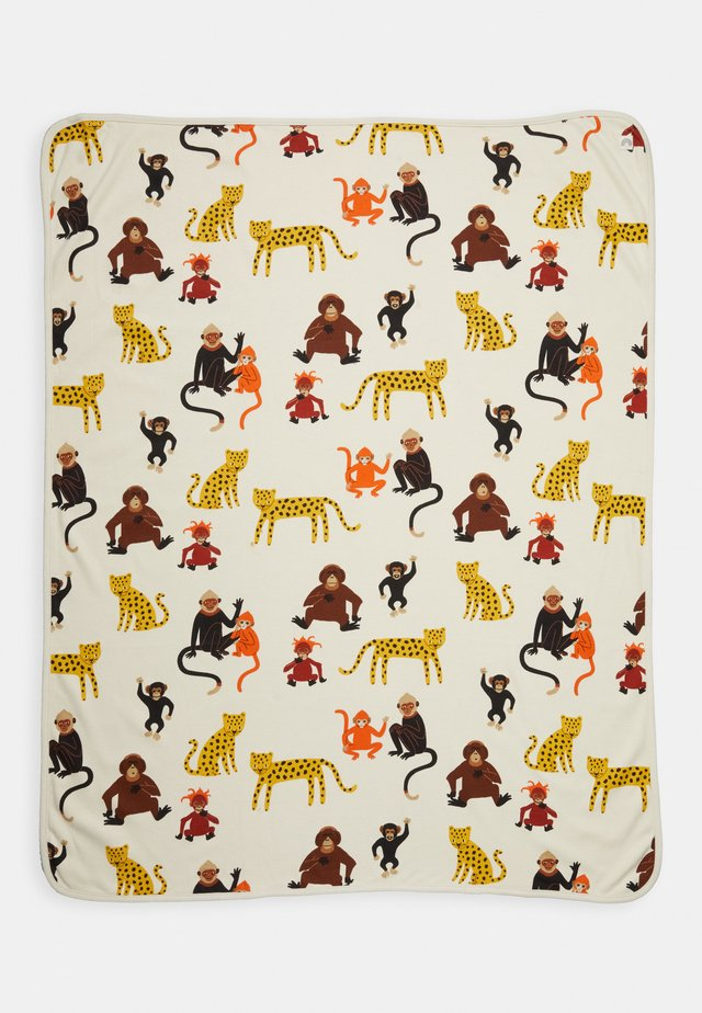 SHAWL MONKEY WORLD - Boxkleed - light beige