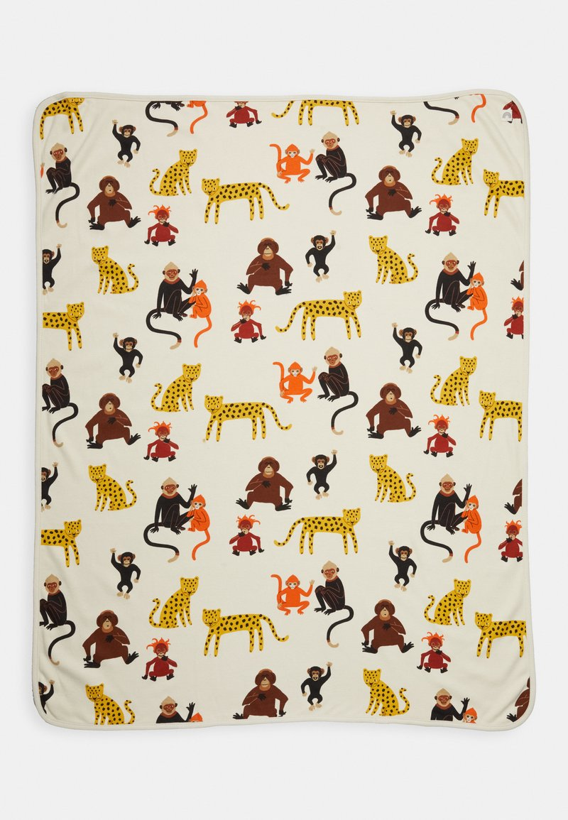 Lindex - SHAWL MONKEY WORLD - Play mat - light beige