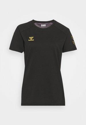 HMLCIMA WOMAN - Camiseta estampada - black