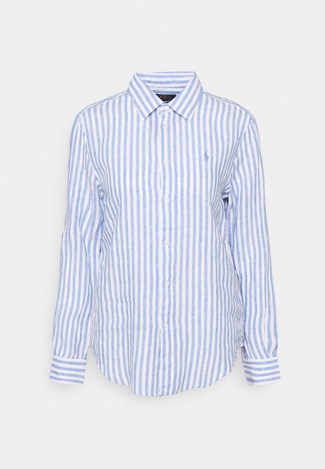 STRIPE LONG SLEEVE - Camicia - white
