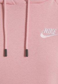 Nike Sportswear - HOODIE - Sweatshirt - pink glaze/white - 4