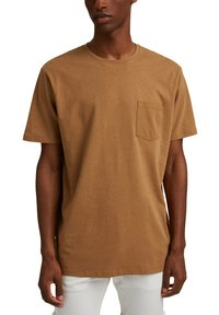 Esprit - Basic T-shirt - camel - 4