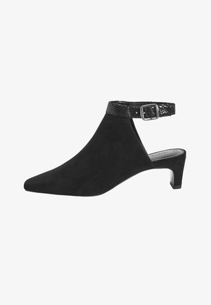 SLINGBACK CLOSED TOE - Escarpins à plateforme - black