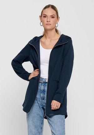 Halflange jas - majolica blue