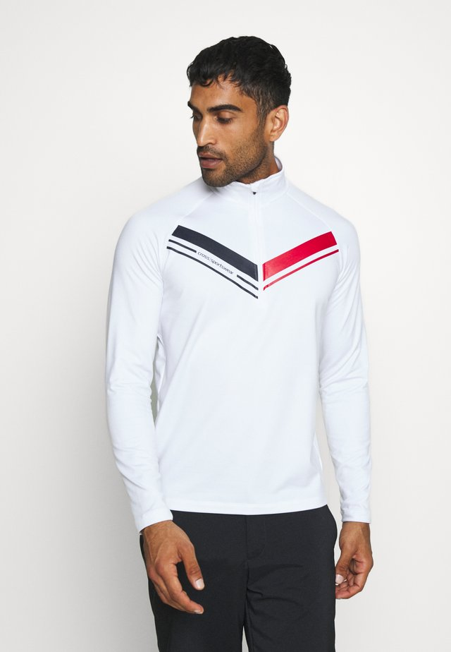 CUT  - Sweat polaire - white