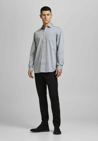 Jack & Jones PREMIUM - JPRBLAROYAL - Formal shirt - light grey melange - 1