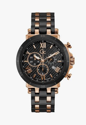 Horloge - black rose gold