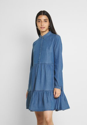 VIMORASA GUDNY SHIRT DRESS - Sukienka letnia - medium blue denim