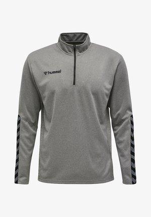 HMLAUTHENTIC  - Sweatshirt - grey melange