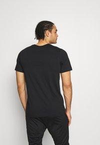 Nike Performance - PARIS ST GERMAIN WORDMARK TEE - Club wear - black - 2