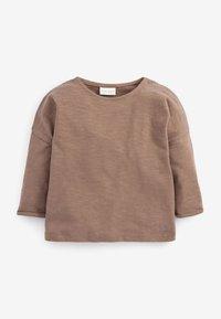 Next - Long sleeved top - dark brown - 3