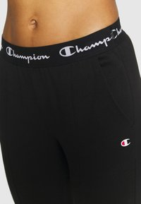 Champion - SLIM PANTS - Pantalones deportivos - black - 4