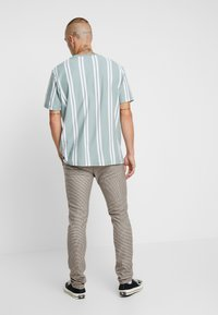 Topman - HERITAGE CHECK  - Pantaloni - brown - 2