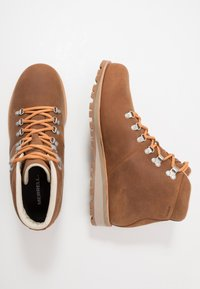 Merrell - WILDERNESS WATERPROOF - Trekking boots/ Trekking støvler - oak - 1