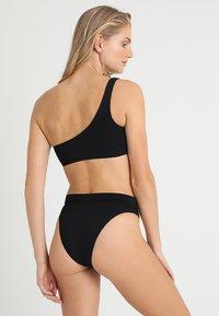 Seafolly - ACTIVE HI RISE - Bikini bottoms - black - 2