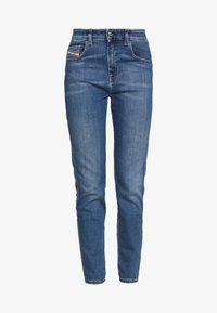 Diesel - D-SLANDY-HIGH - Jeans Skinny Fit - blue denim - 3
