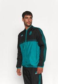 adidas Performance - REAL MADRID ICON - Training jacket - black - 0