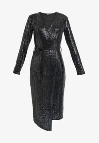 Gina Tricot - MATILDI GLITTER DRESS - Cocktailkjole - black - 5