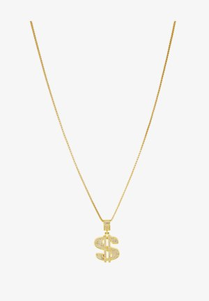 DOLLAR NECKLACE - Collar - gold-coloured