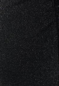 AllSaints - FRANCESCO METALLIC DRESS 2-IN-1 - Shift dress - black - 2