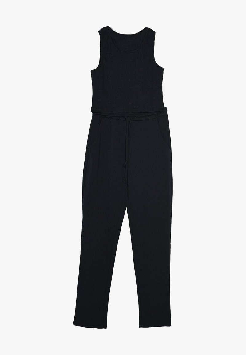 Trendyol - Trousers - navy blue