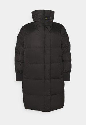 COAT - Down coat - black