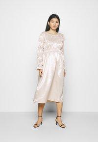 Love Copenhagen - LCTUSMA DRESS - Cocktail dress / Party dress - eggnog - 0